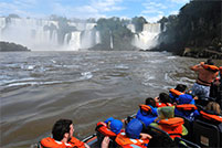 excursiones en gomon en iguazu
