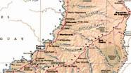 Mapa de la Provincia de Misiones