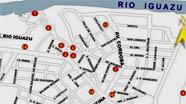 plano puerto iguazu